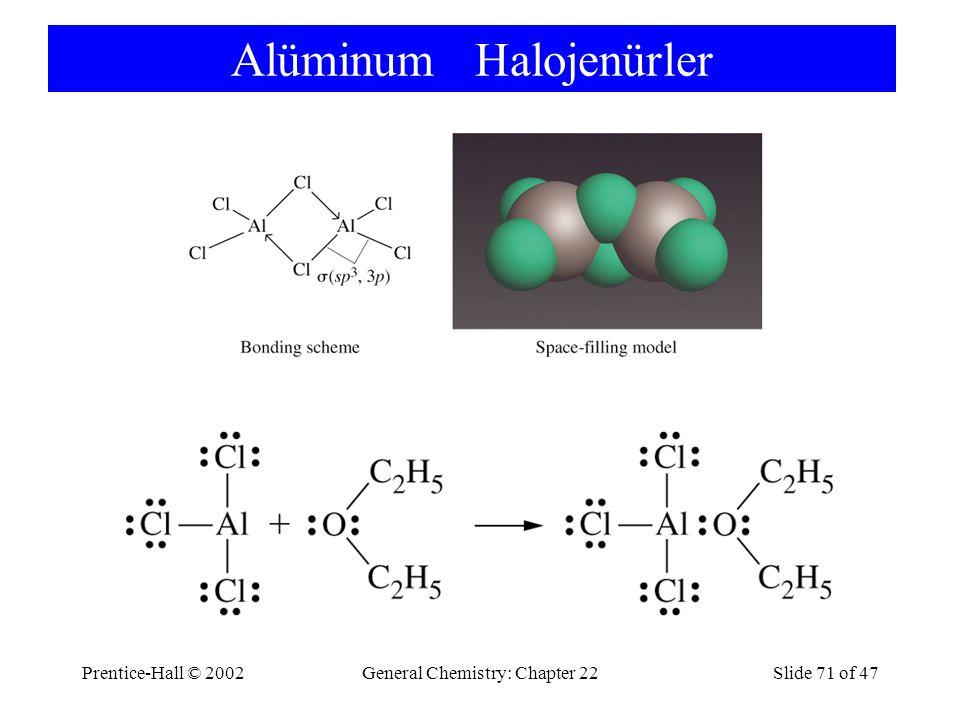 Alüminum Halojenürler