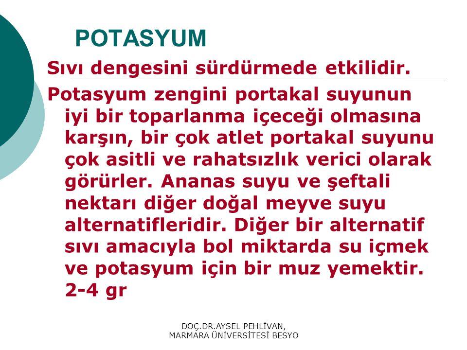 DOÇ.DR.AYSEL PEHLİVAN, MARMARA ÜNİVERSİTESİ BESYO