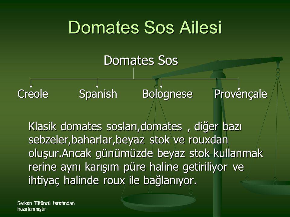 Domates Sos Ailesi Domates Sos Creole Spanish Bolognese Provençale
