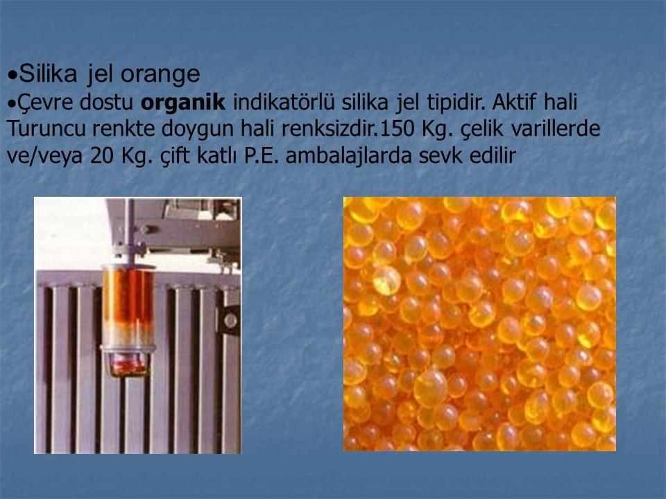 Silika jel orange