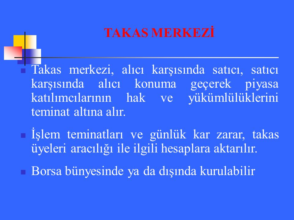 TAKAS MERKEZİ