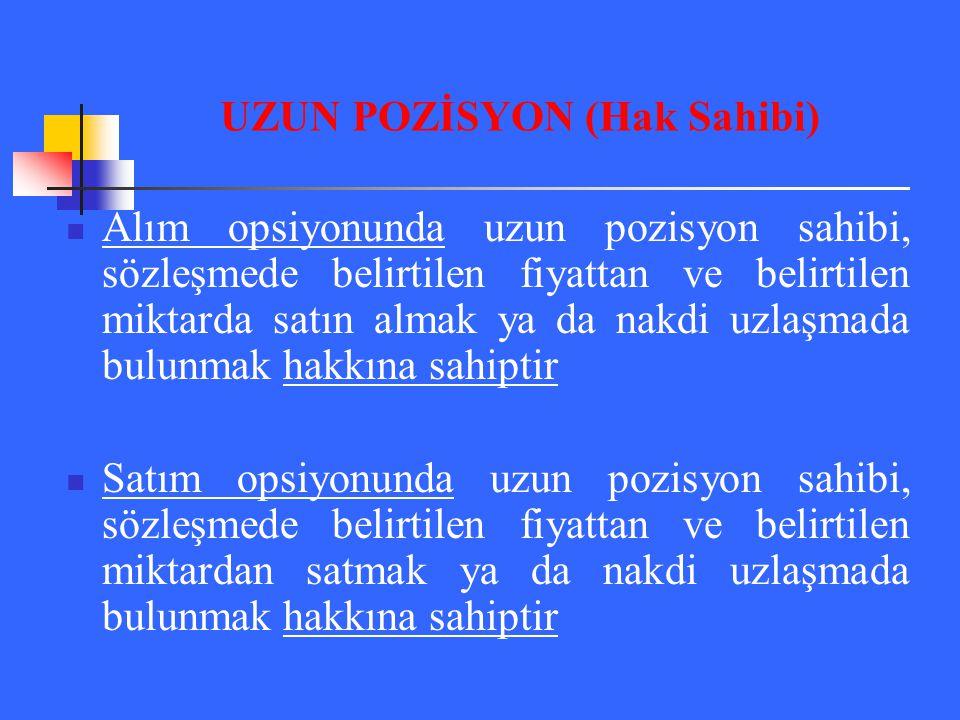 UZUN POZİSYON (Hak Sahibi)