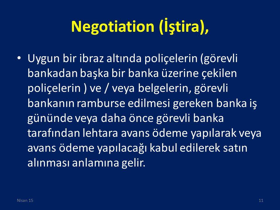 Negotiation (İştira),
