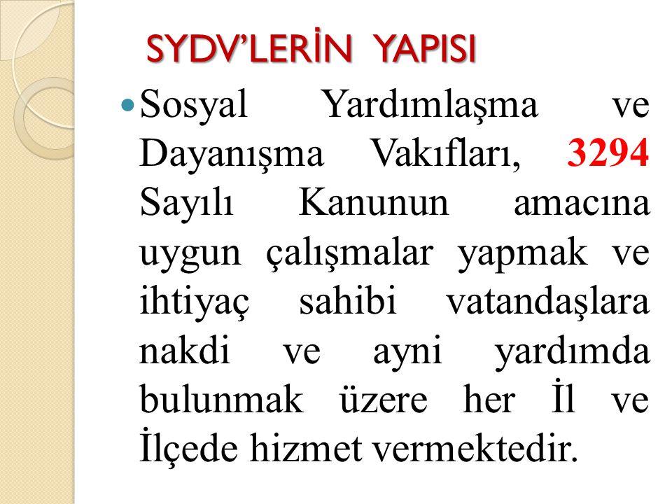 SYDV'LERİN YAPISI