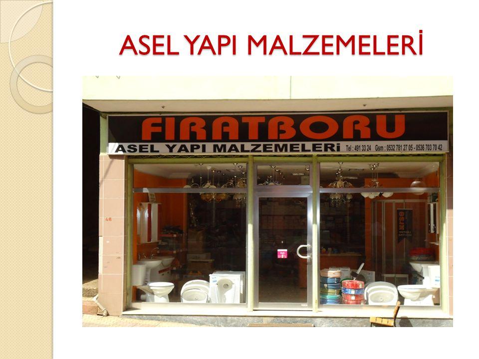 ASEL YAPI MALZEMELERİ