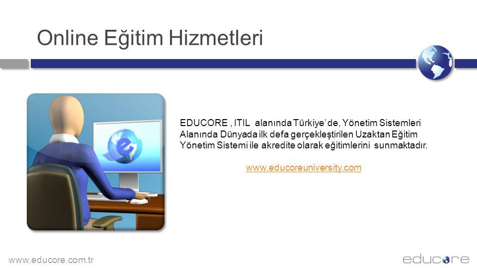Online Eğitim Hizmetleri