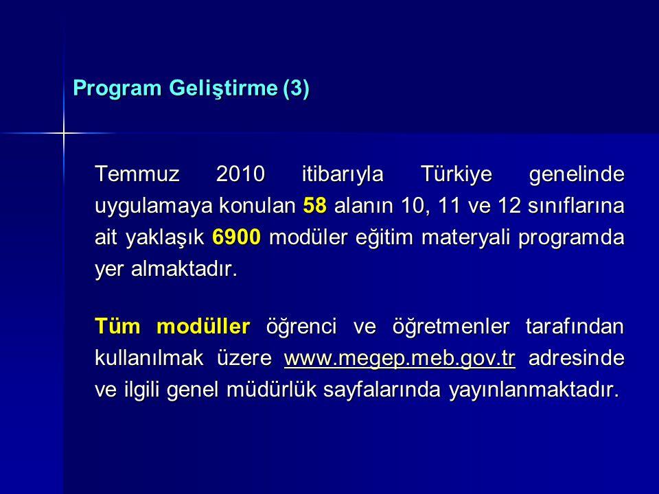 Program Geliştirme (3)