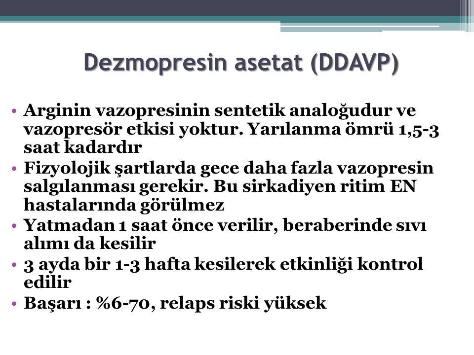 Dezmopresin asetat (DDAVP)