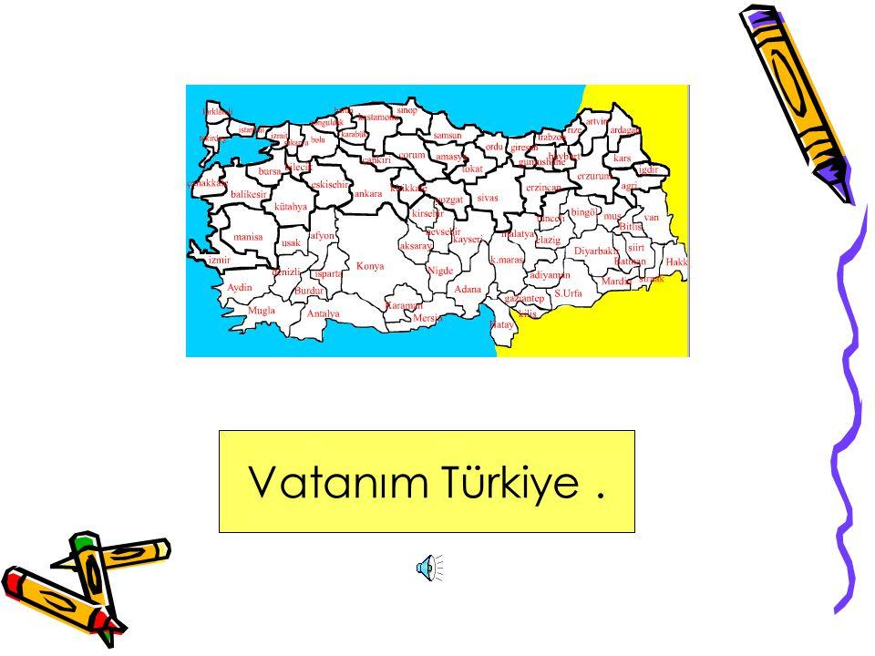 Vatanım Türkiye .