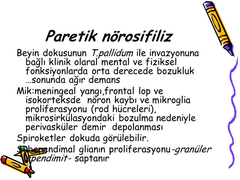 Paretik nörosifiliz