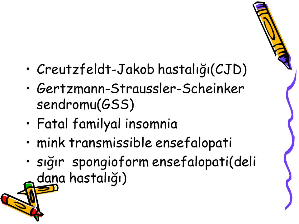Creutzfeldt-Jakob hastalığı(CJD)