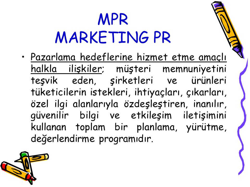 MPR MARKETING PR