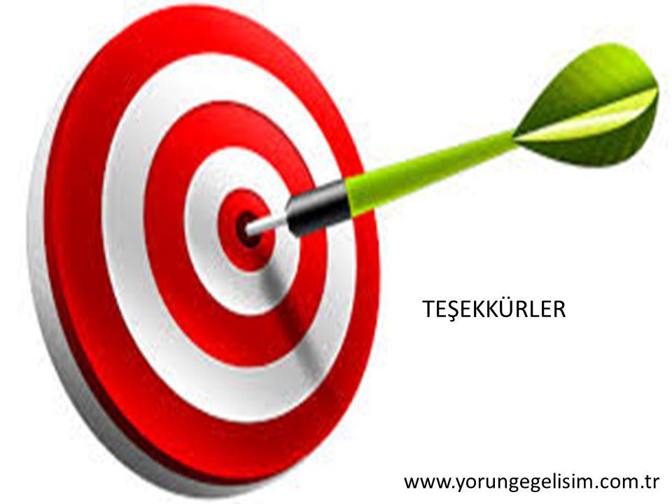 TEŞEKKÜRLER www.yorungegelisim.com.tr