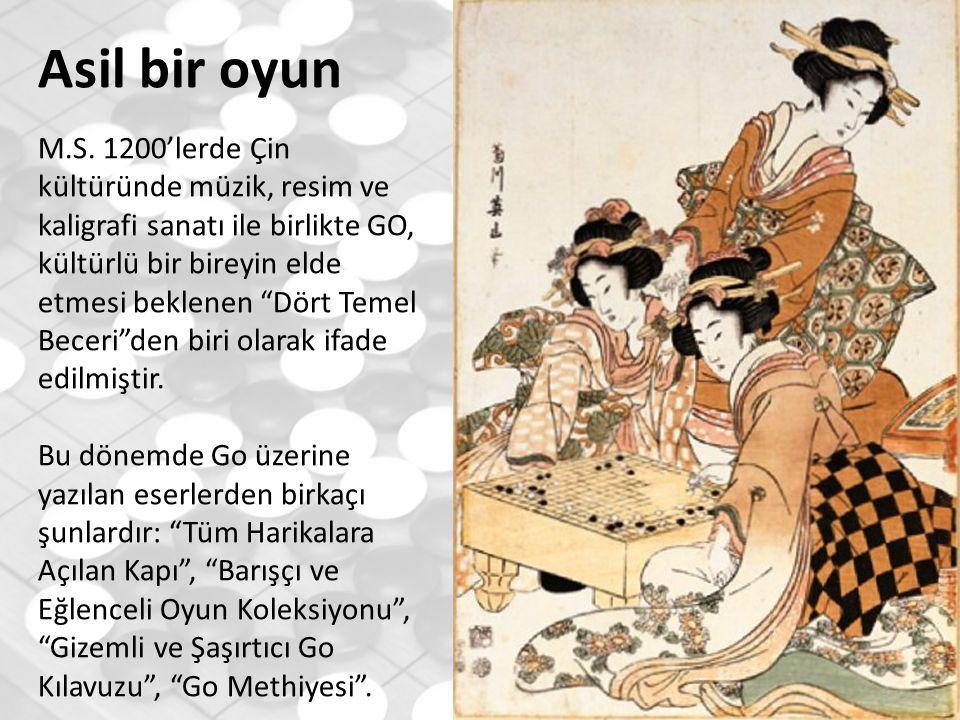Asil bir oyun M.S. 1200'lerde Çin