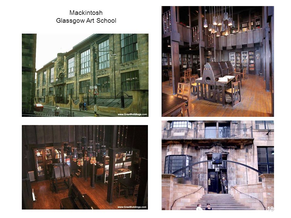 Mackintosh Glassgow Art School