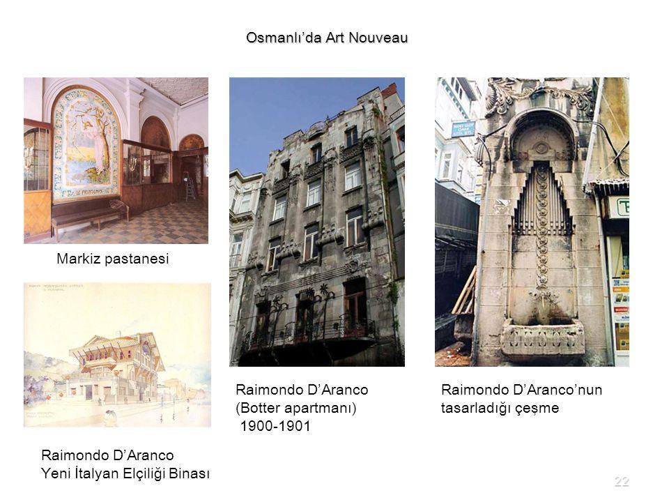 Osmanlı'da Art Nouveau