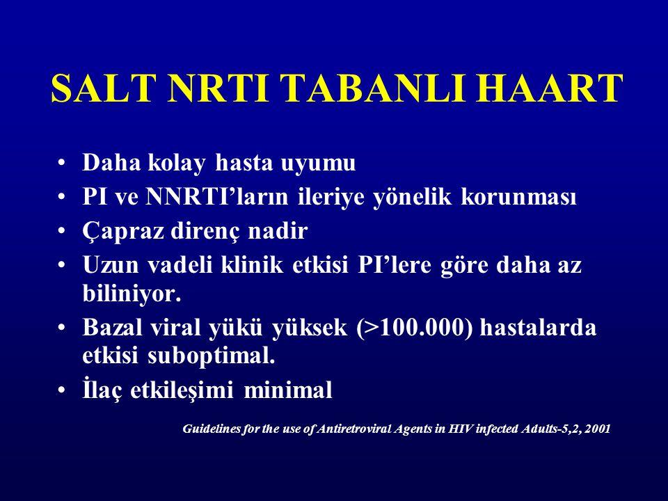 SALT NRTI TABANLI HAART