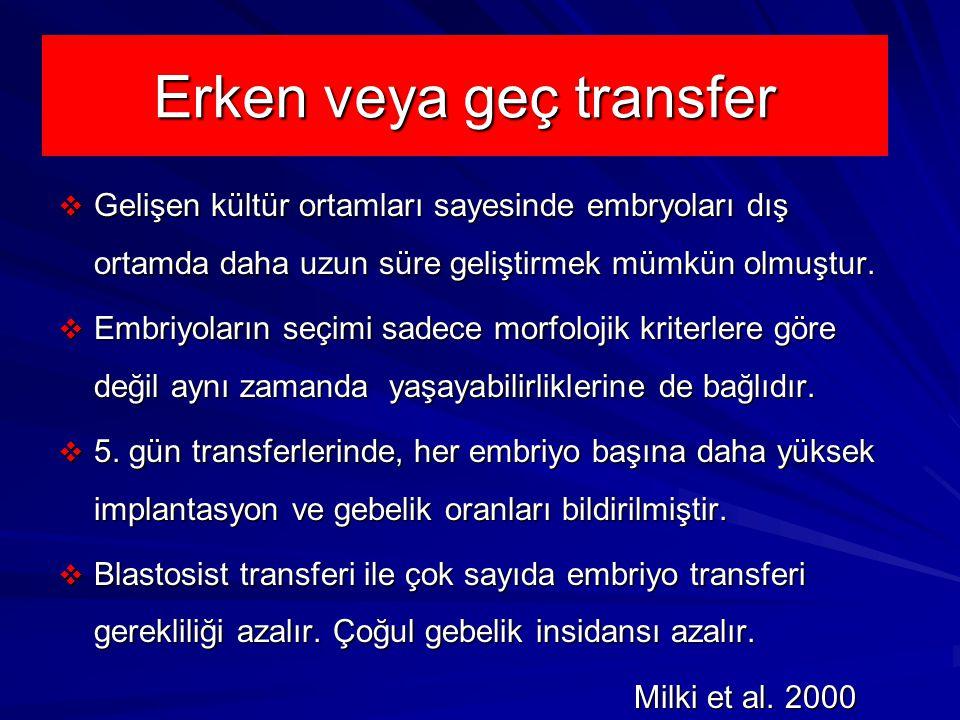 Erken veya geç transfer