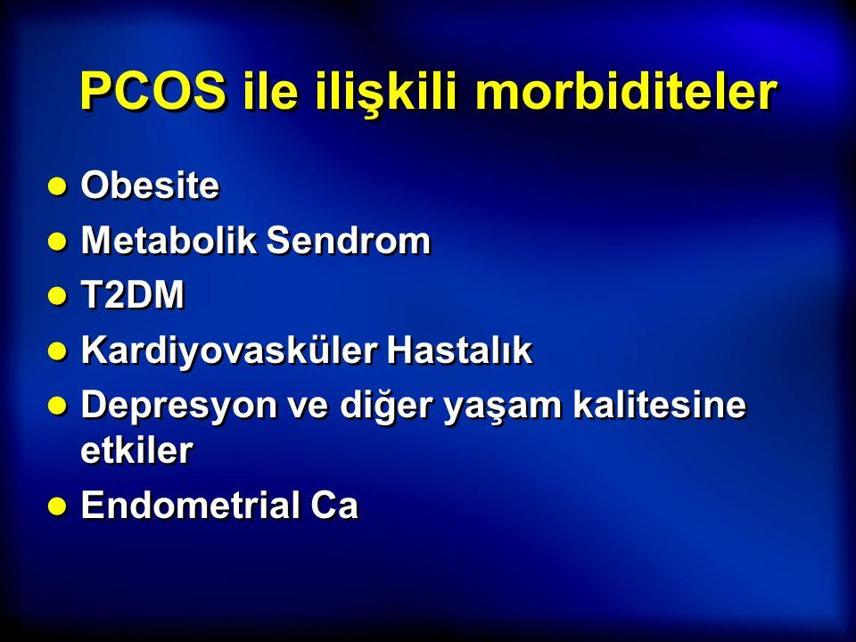 PCOS ile ilişkili morbiditeler