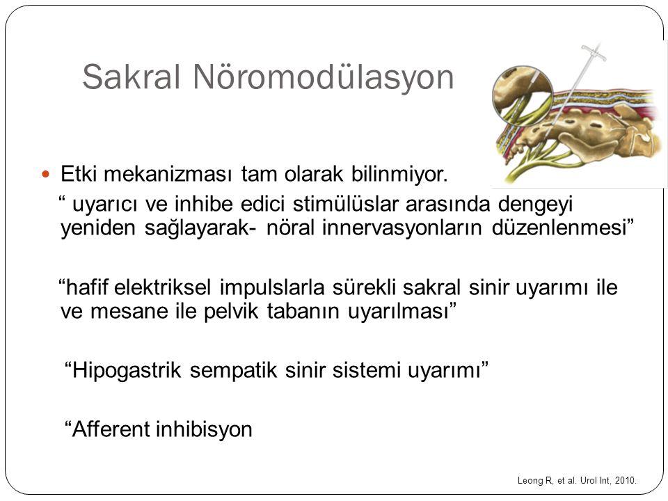 Sakral Nöromodülasyon