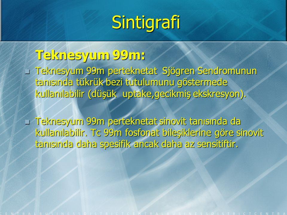 Sintigrafi Teknesyum 99m: