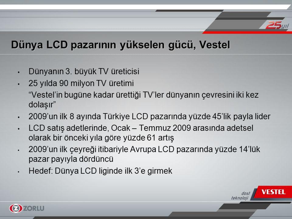 Dünya LCD pazarının yükselen gücü, Vestel