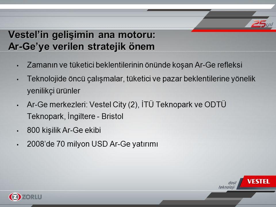 Vestel'in gelişimin ana motoru: Ar-Ge'ye verilen stratejik önem
