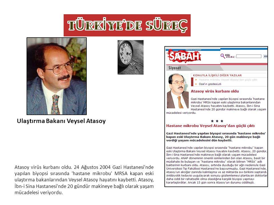 Ulaştırma Bakanı Veysel Atasoy