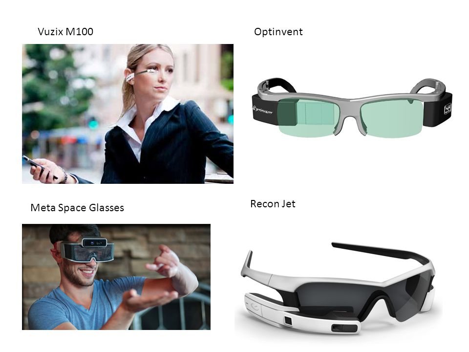 Vuzix M100 Optinvent Recon Jet Meta Space Glasses