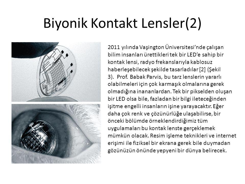Biyonik Kontakt Lensler(2)