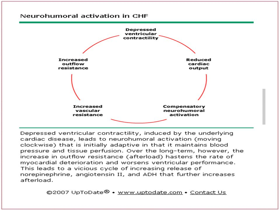 Nörohormonal aktivasyon sonucu