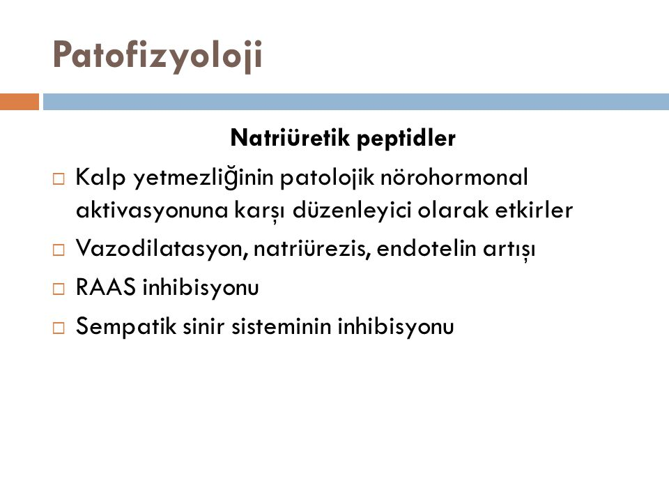 Natriüretik peptidler