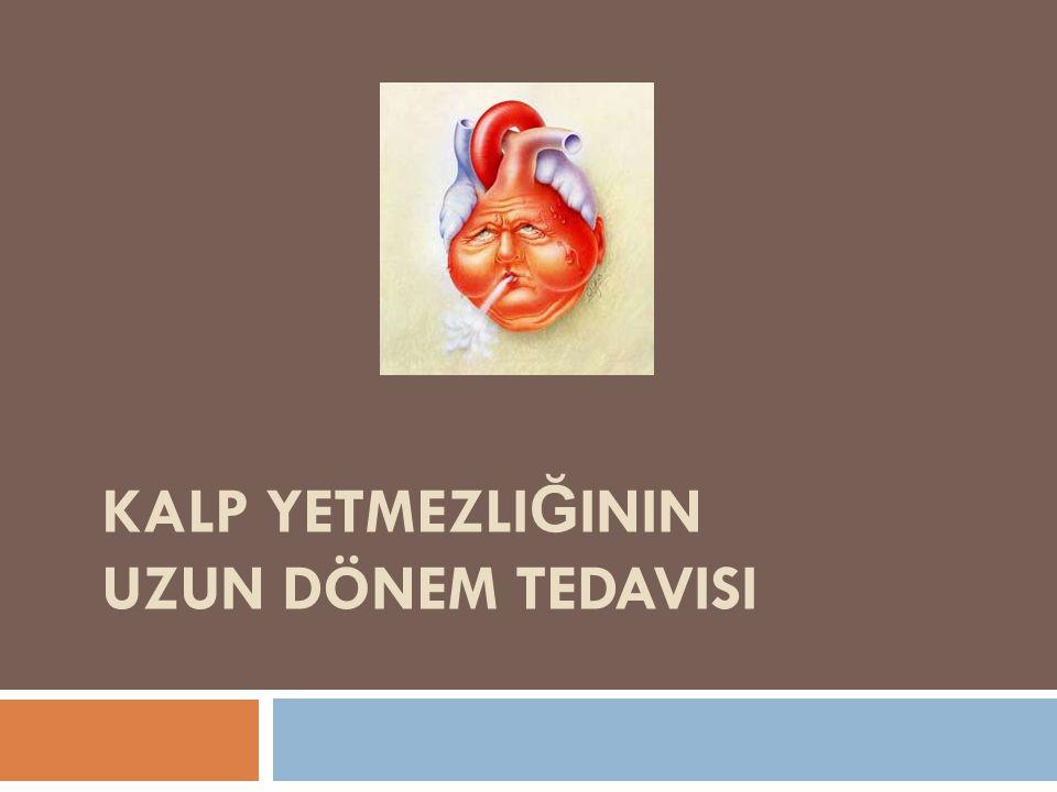 Kalp Yetmezliğinin Uzun dönem tedavisi