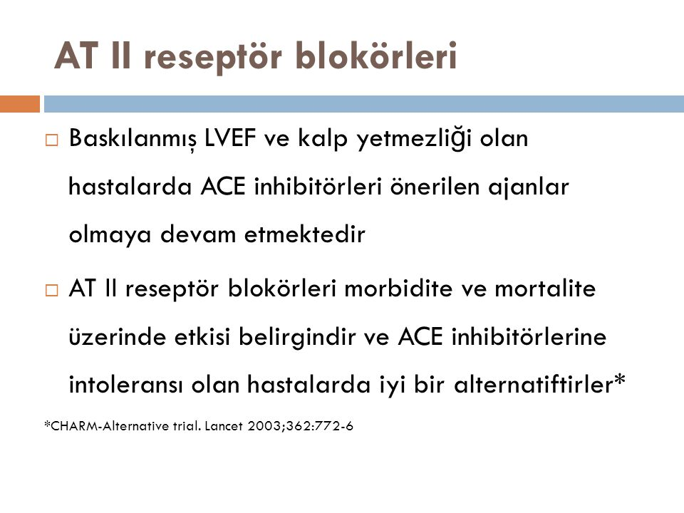 AT II reseptör blokörleri