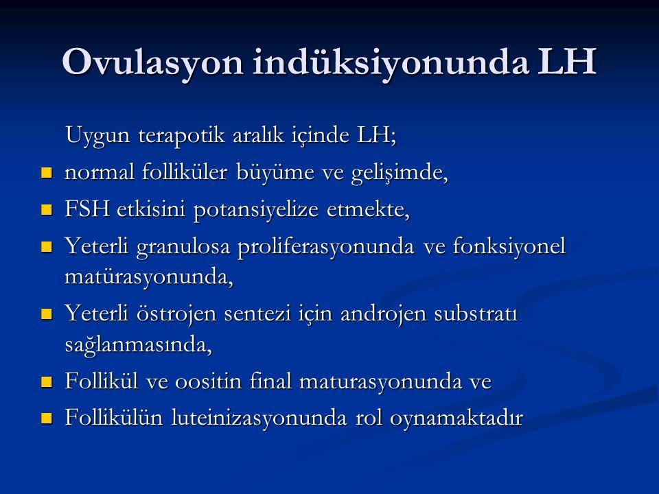 Ovulasyon indüksiyonunda LH