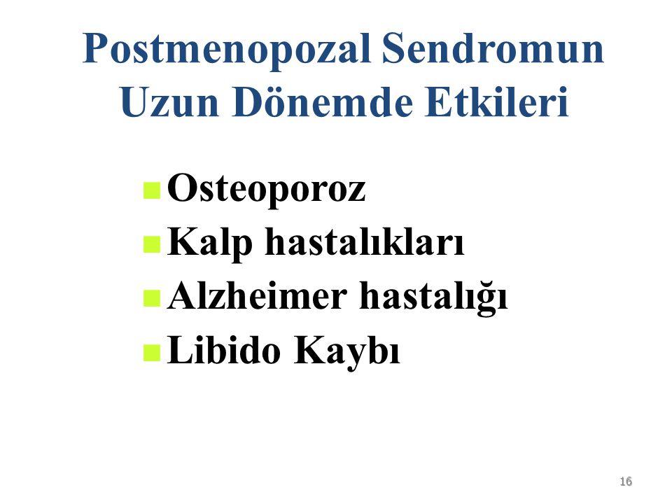 Postmenopozal Sendromun