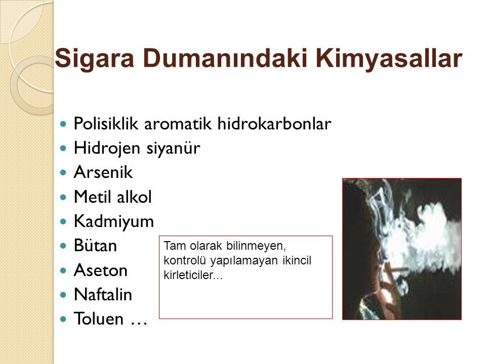 Sigara Dumanındaki Kimyasallar