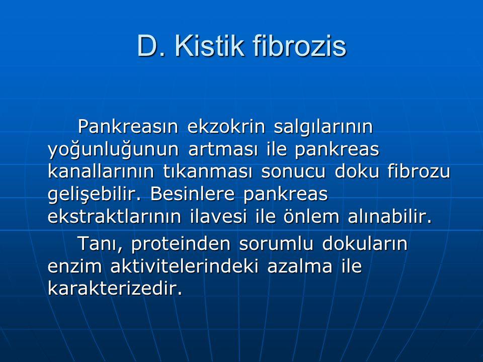 D. Kistik fibrozis