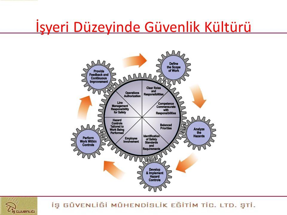 İşyeri Düzeyinde Güvenlik Kültürü