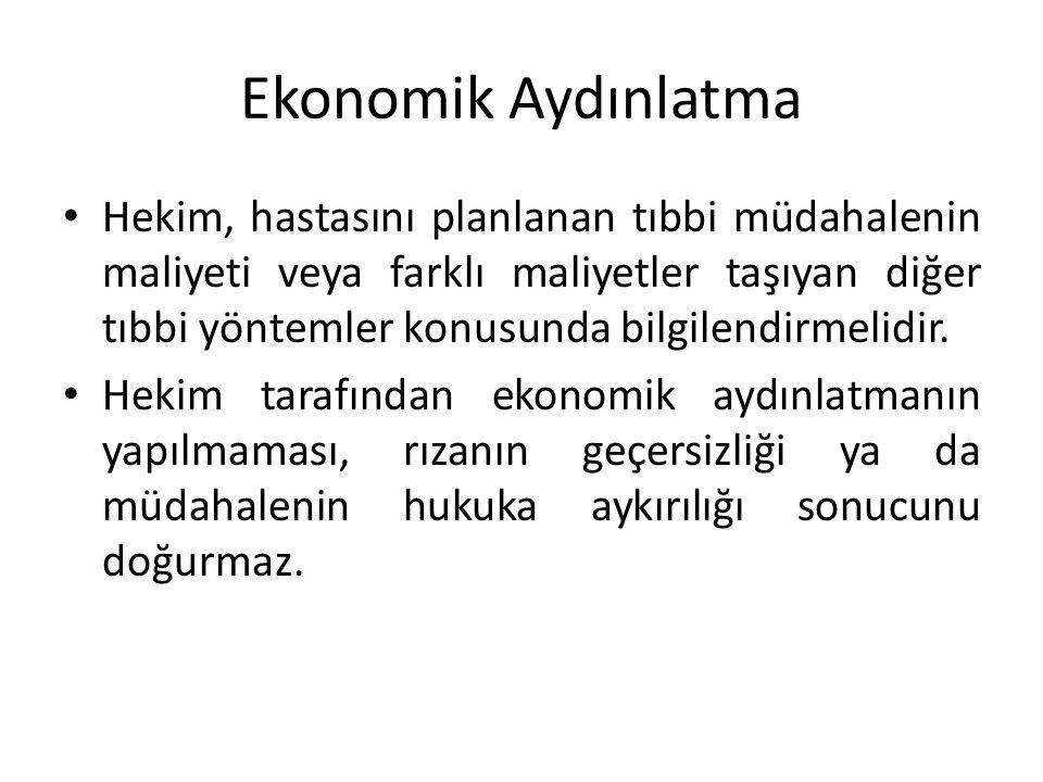 Ekonomik Aydınlatma