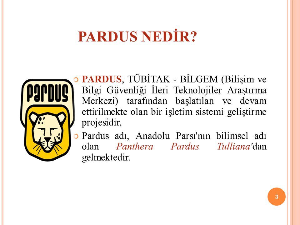 PARDUS NEDİR