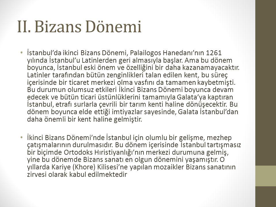 II. Bizans Dönemi