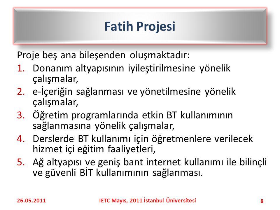 IETC Mayıs, 2011 İstanbul Üniversitesi