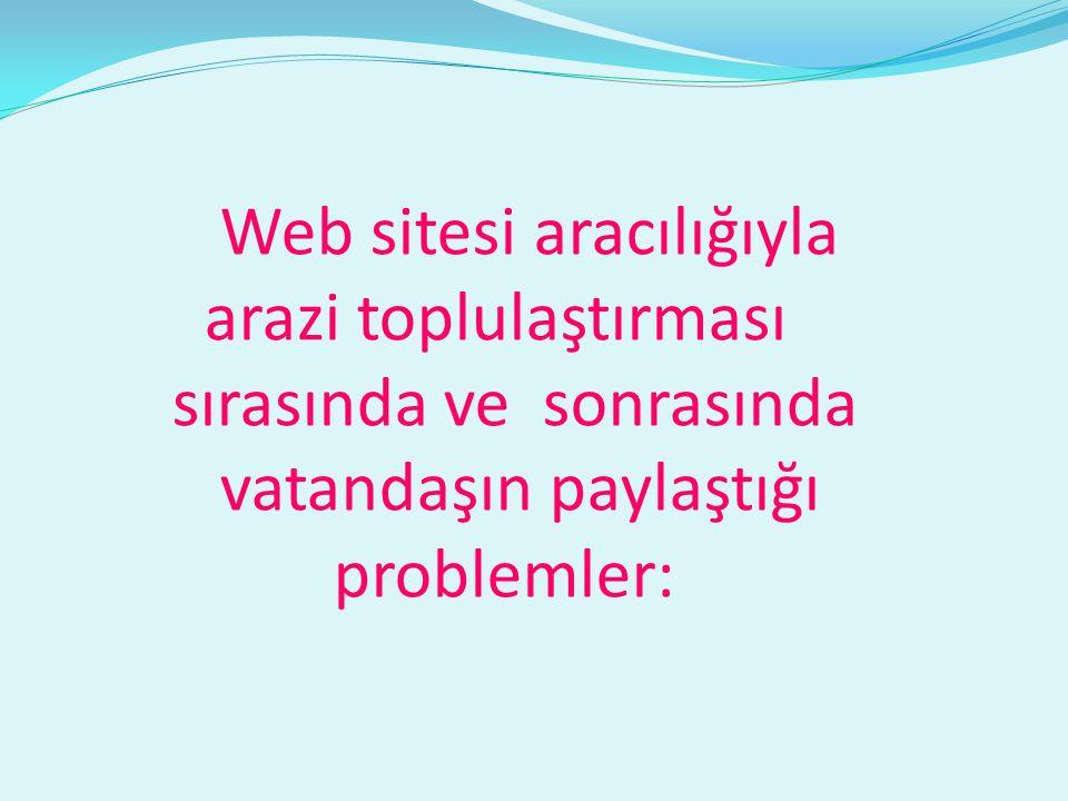 Web sitesi aracılığıyla