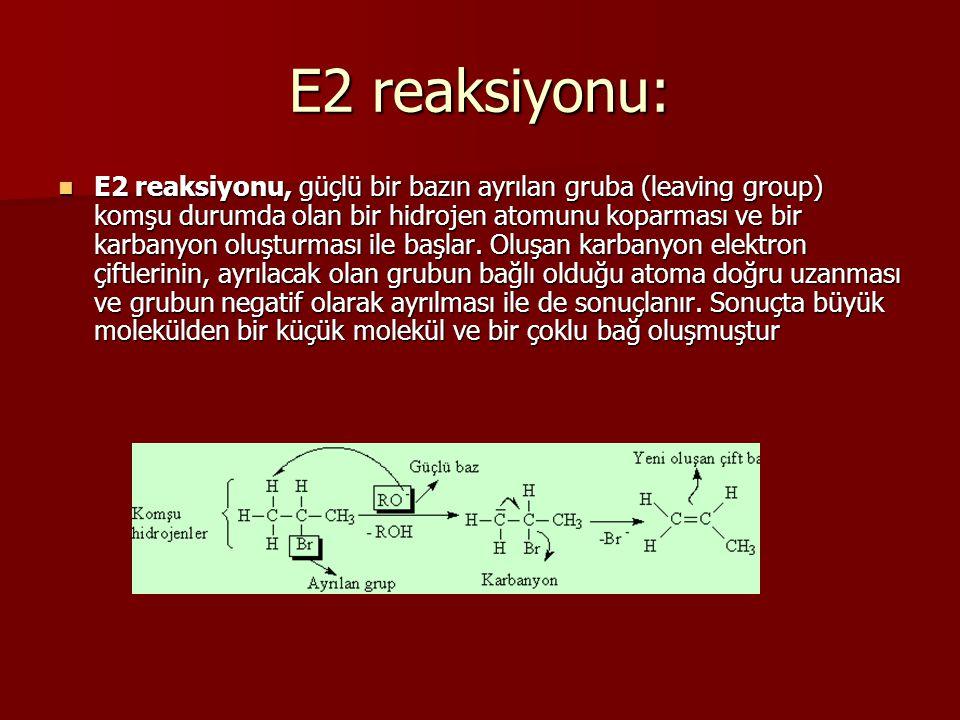 E2 reaksiyonu: