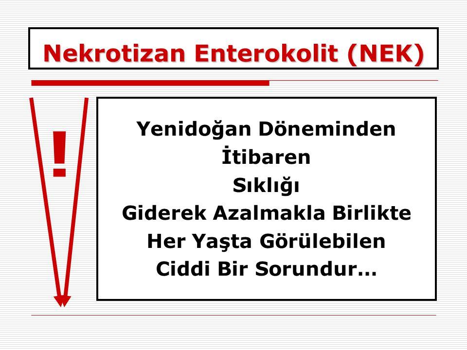 Nekrotizan Enterokolit (NEK)