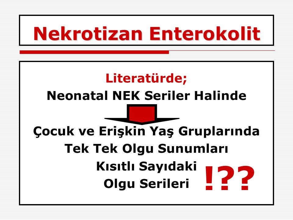 Nekrotizan Enterokolit