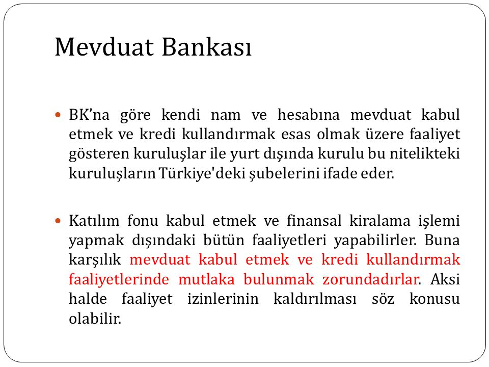 Mevduat Bankası