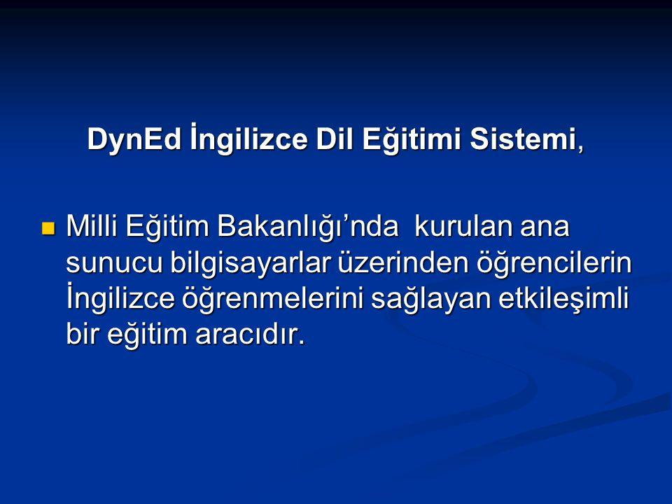 DynEd İngilizce Dil Eğitimi Sistemi,