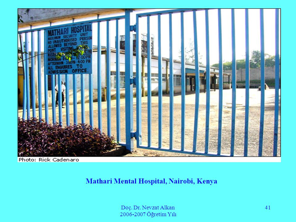 Mathari Mental Hospital, Nairobi, Kenya